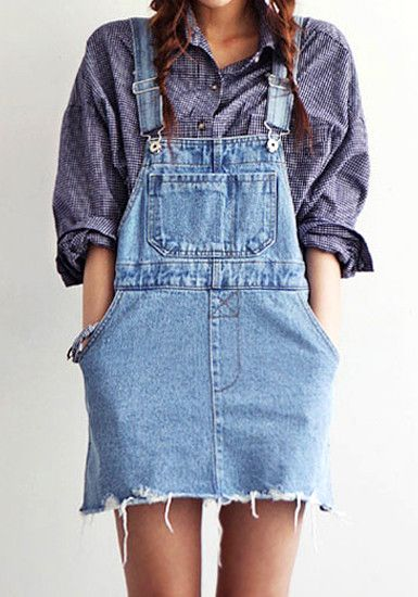 88fd59f1345 Rompers womens jumpsuit preppy style suspenders moben denim short skirt  bodysuit denim overalls denim jumpsuit Denim