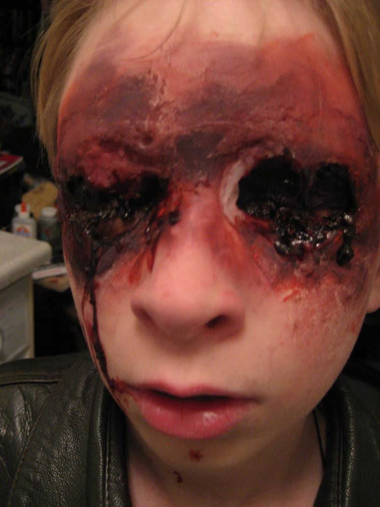 No eyes special effects makeup pinterest halloween makeup