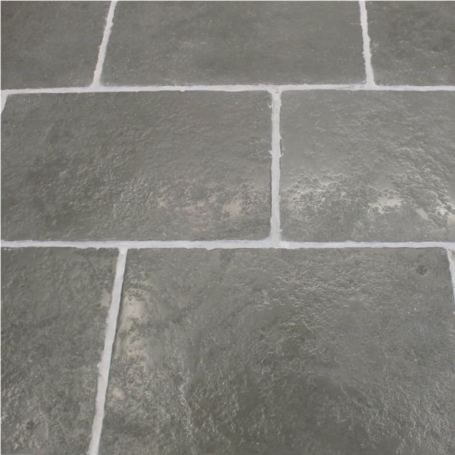 Natural Stone Kitchen Floor Heritage Grey Brushed Tumbled Stone Flagstones This Limestone Is