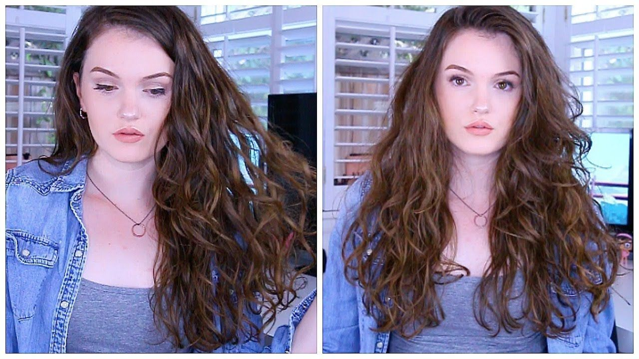 My Wavy Hair Routine How I Style My Hair Curly Hair Tips Wavy Hair Hair Routines