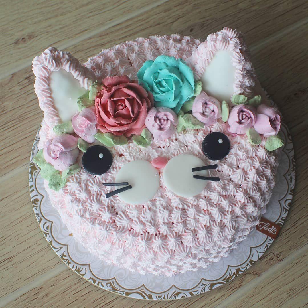 Sab S Kitty Cat Cake Happy Birthday Dear Kitten Kitty Cake