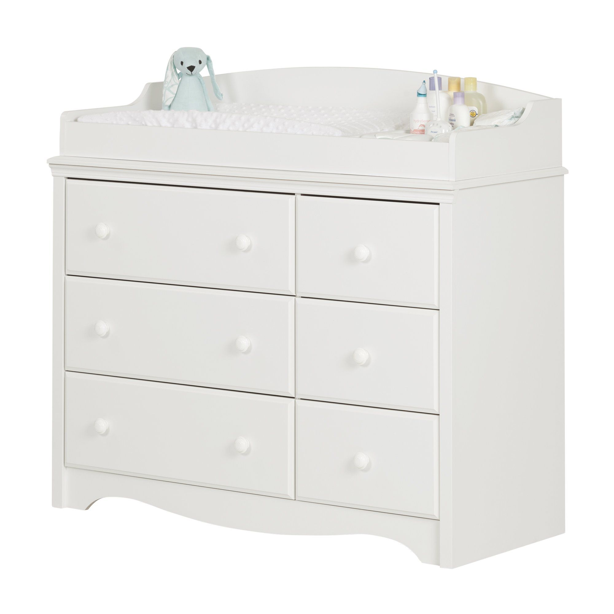 White Dresser Changing Table Angel Changing Table Dresser