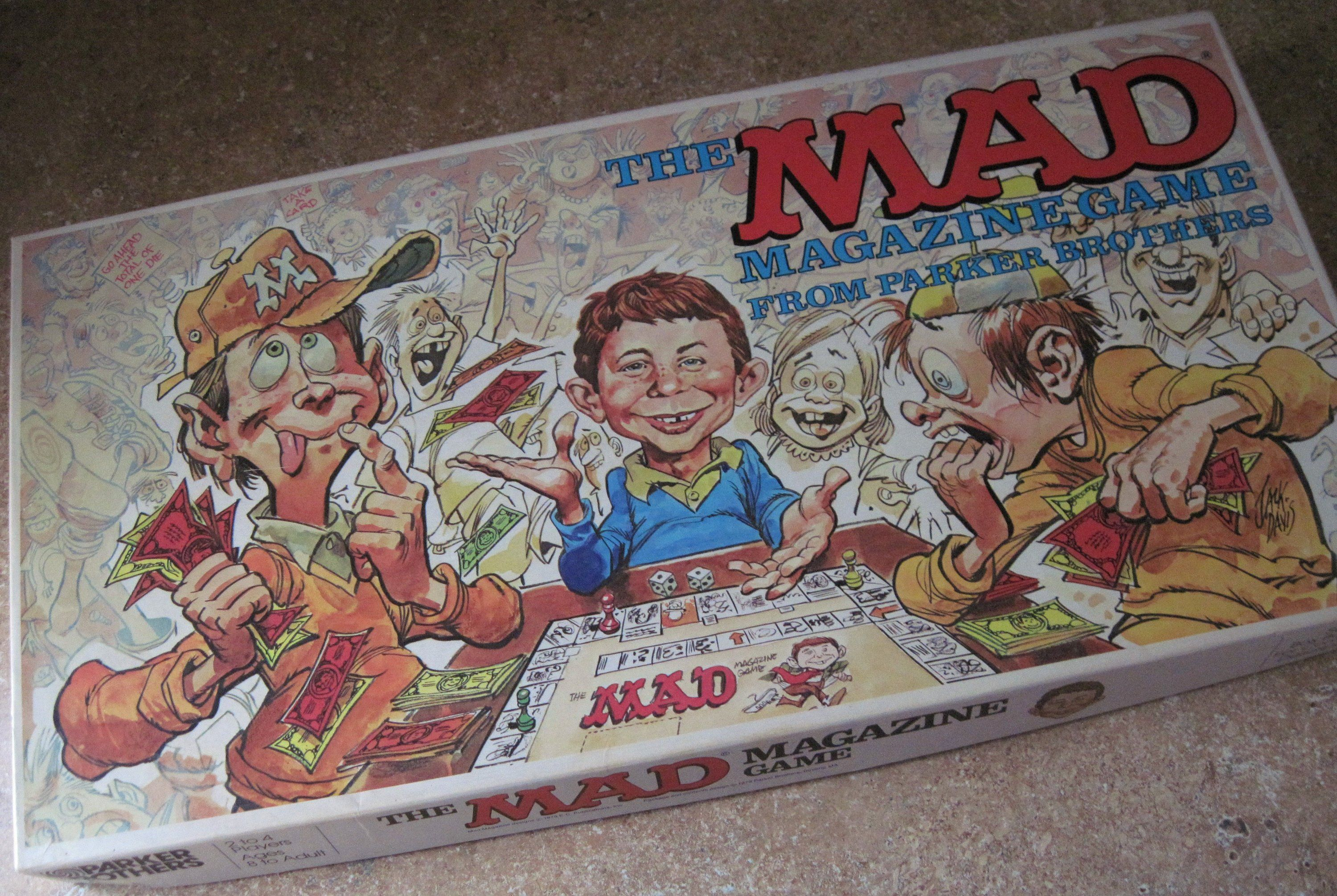 Mad Magazine Game Parker Brothers 1979 by