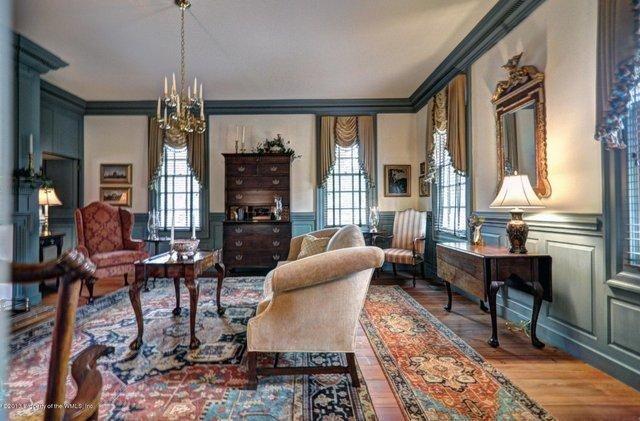 2989 Kitchums Close Williamsburg Va Trulia Com Colonial Home Decor Georgian Interiors Colonial Living Room