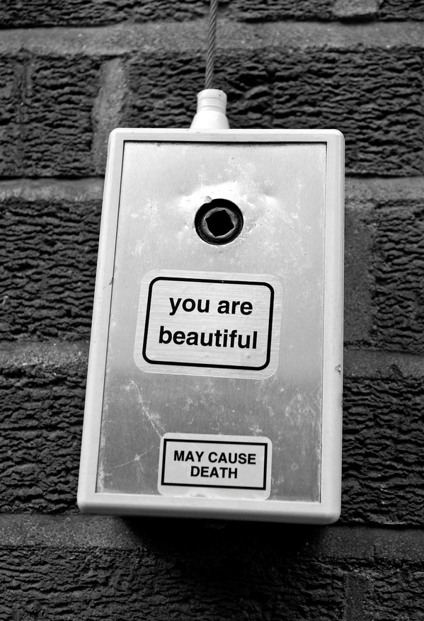 Interview with the creator of the you are beautiful sticker campaign