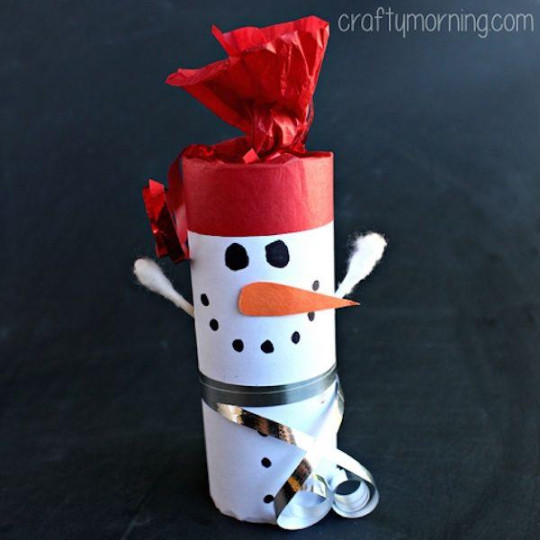 Manualidades de Navidad con rollos de papel Manualidades para