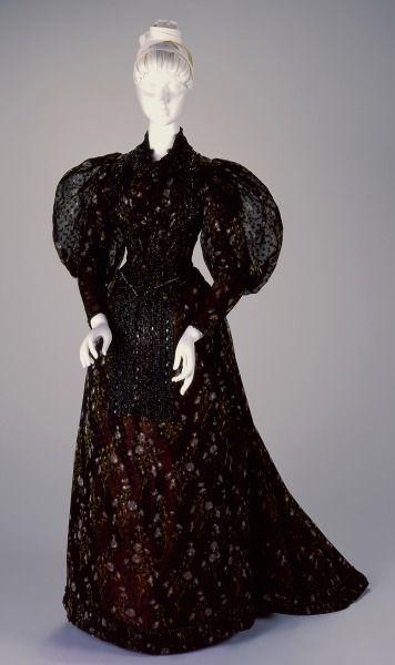 Reception Dress: Bodice and Skirt Artist/Maker:H. & S. Pogue Co., Cinti (American, estab. 1863), designer/maker Date:1892-1893 Place:Cincinnati/Ohio/United States