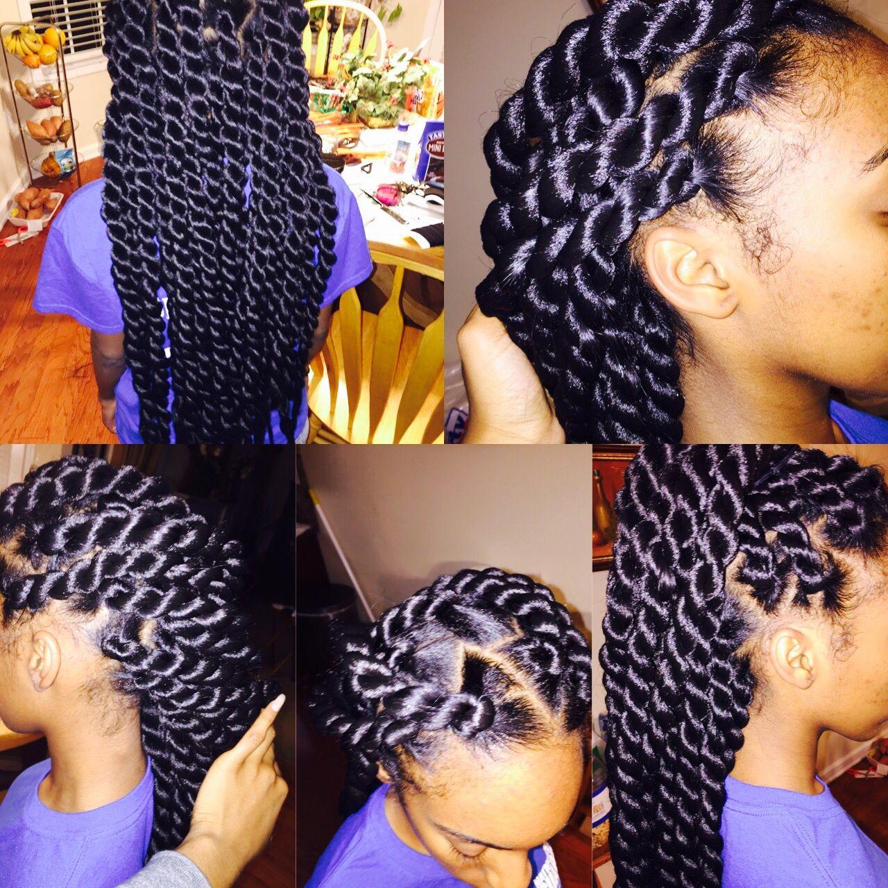Jumbo Rope Twist Twist Braid Hairstyles Twist Hairstyles Natural Hair Styles