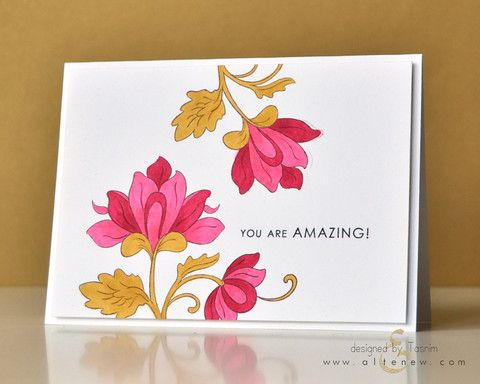 17 Best images about Altenew Persian Motifs – Persian Birthday Cards