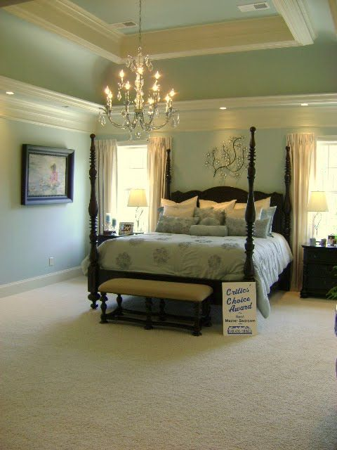 Sherwin Williams Rainwashed Home Decor Ideas Pinterest Bedrooms Master Bedroom And Wood