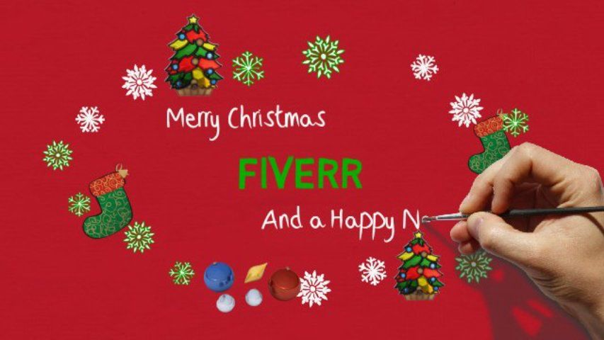 Customize xmas video greeting card for 5 on fiverr holidays customize xmas video greeting card for 5 on fiverr m4hsunfo