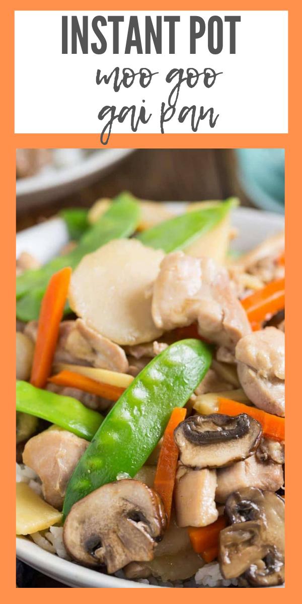 Instant Pot Moo Goo Gai Pan #chinesemeals