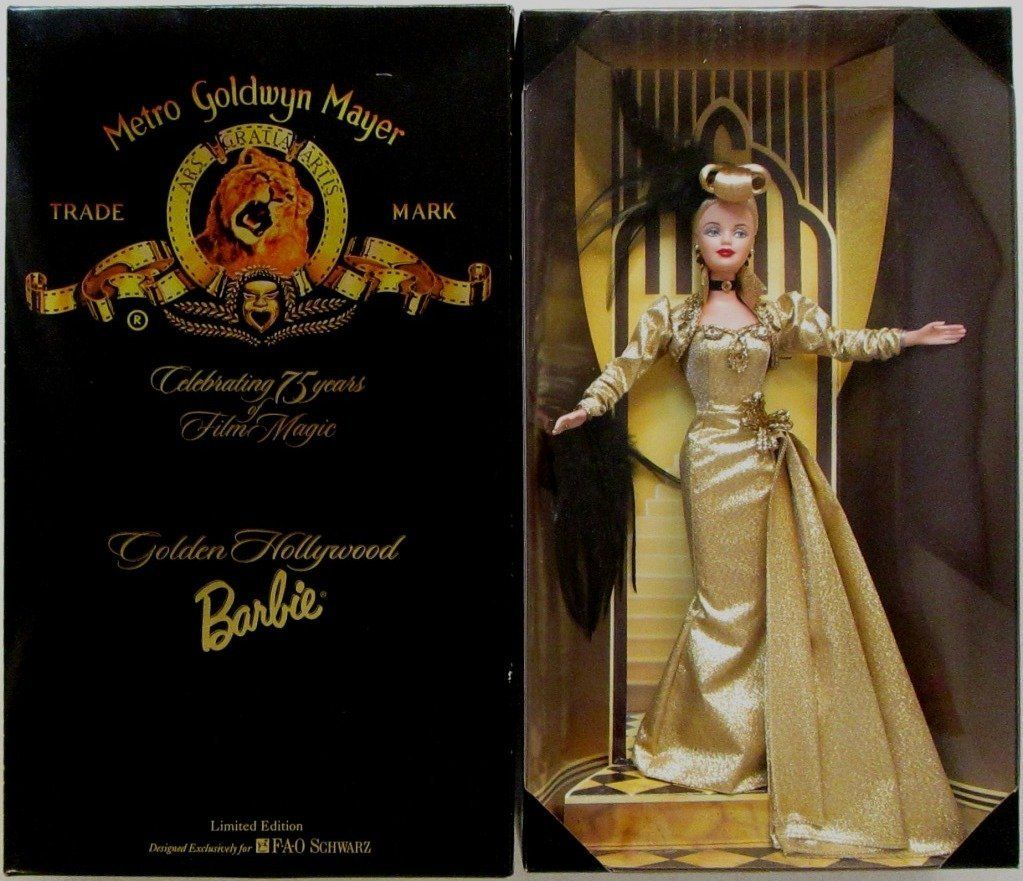 AmazonSmile: FAO Schwarz Limited Edition MGM Golden Hollywood Barbie: Toys & Games