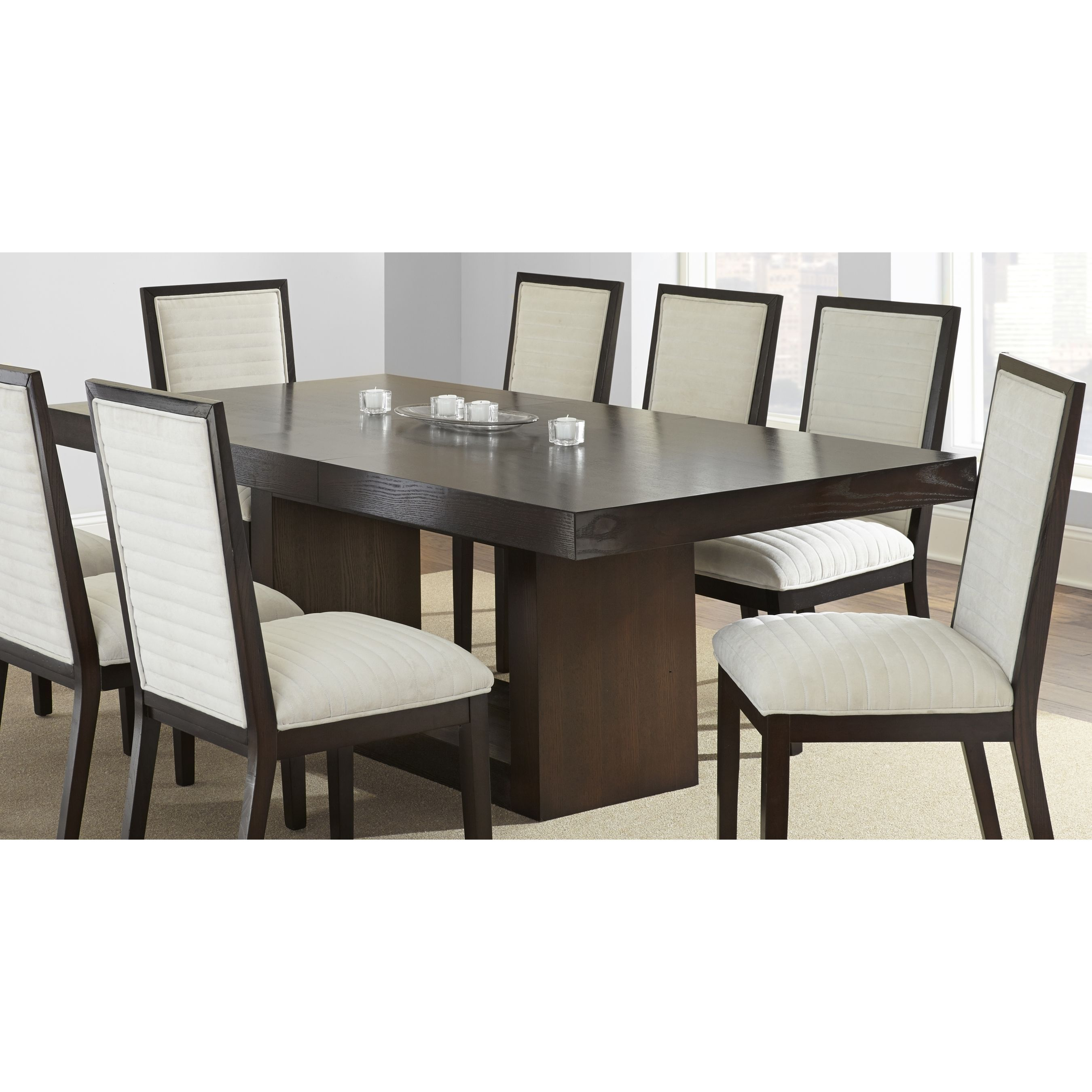 Greyson Living Amia Espresso Dining Table With Removable