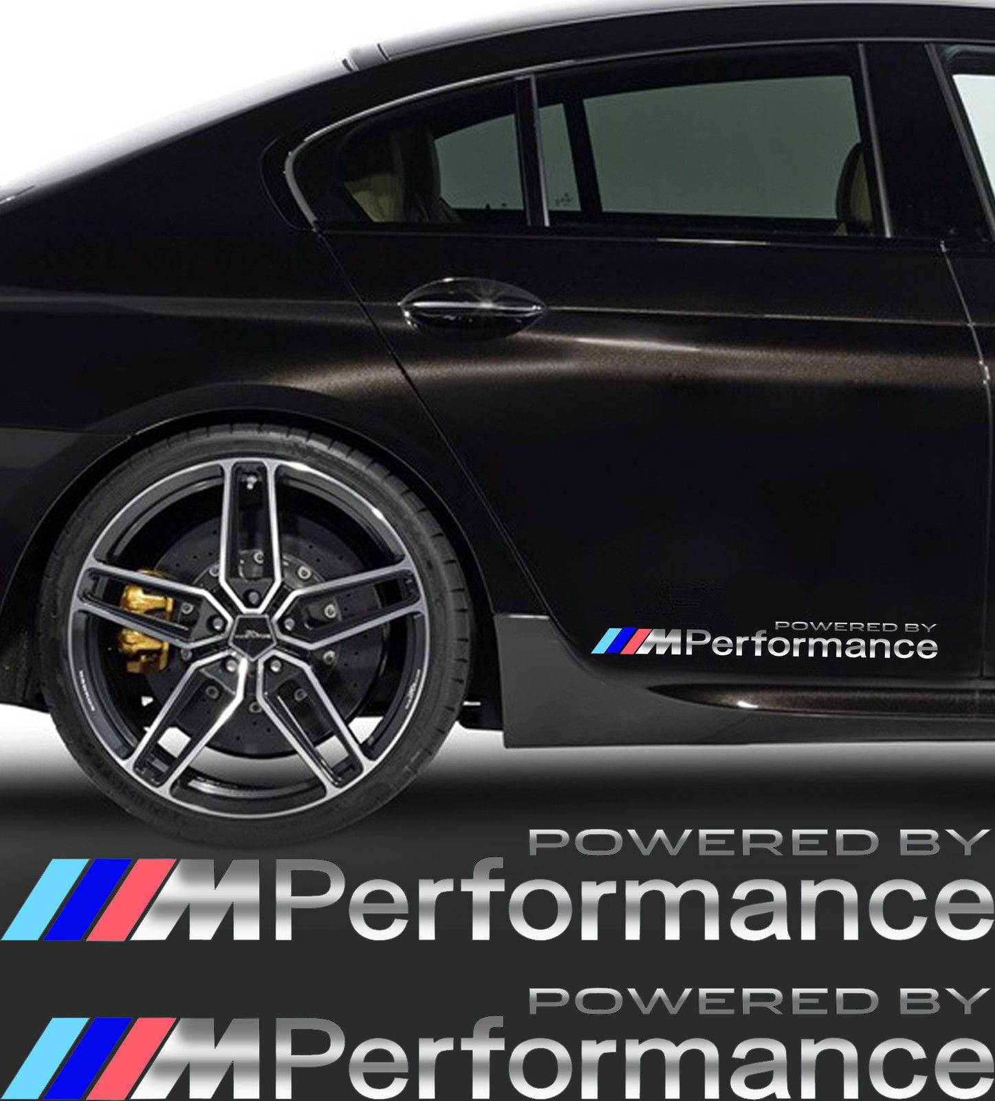 M Performance Sticker Bmw 2 Pcs Mirror Chromeffekt Foil Bmw 2er Bmw Bmw M Power