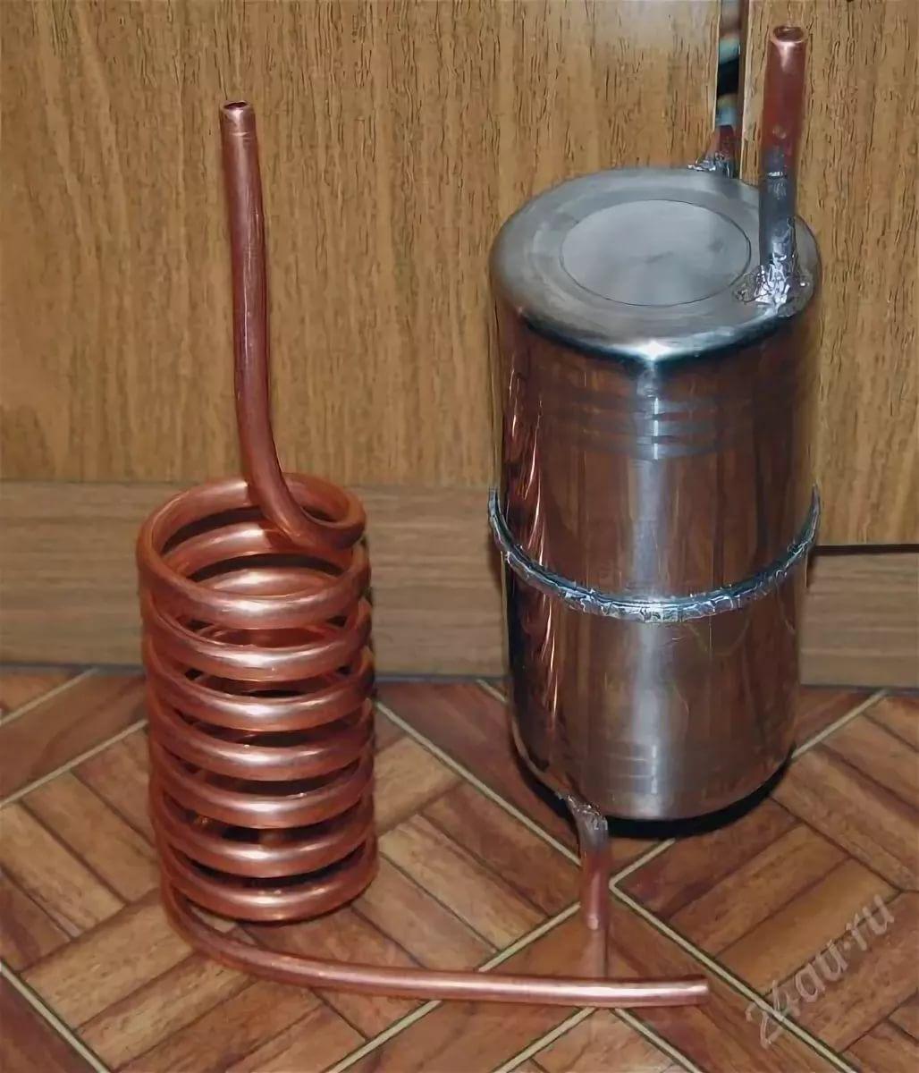 Медный змеевик для самогонного аппарата отзывы как сделать деревенский самогонный аппарат