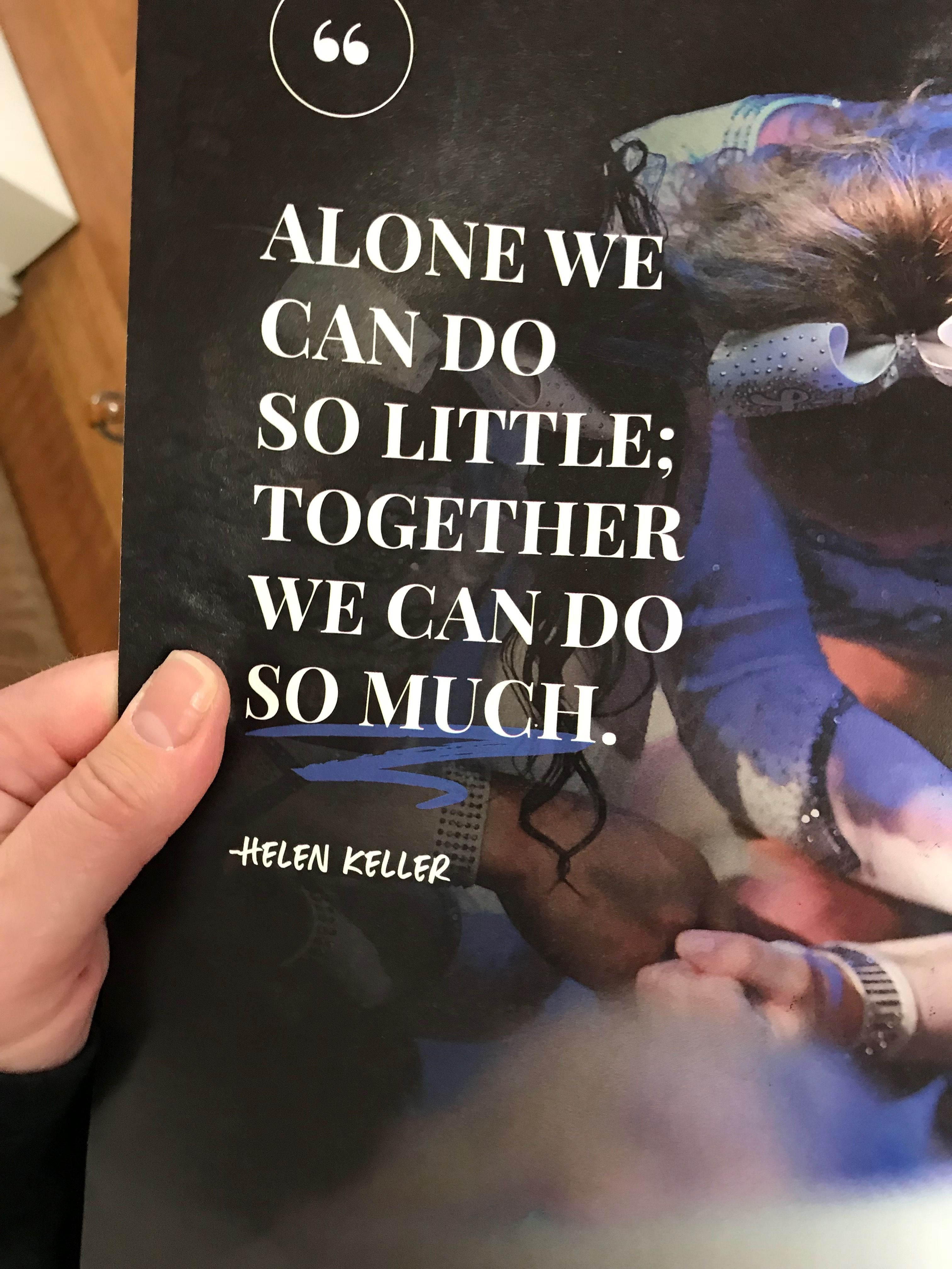 Together We Can Image By Liz Krivitz On Go Team
