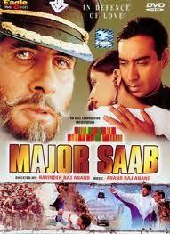 Major Saab Bollywood Posters Hindi Bollywood Movies Hindi Movies Online