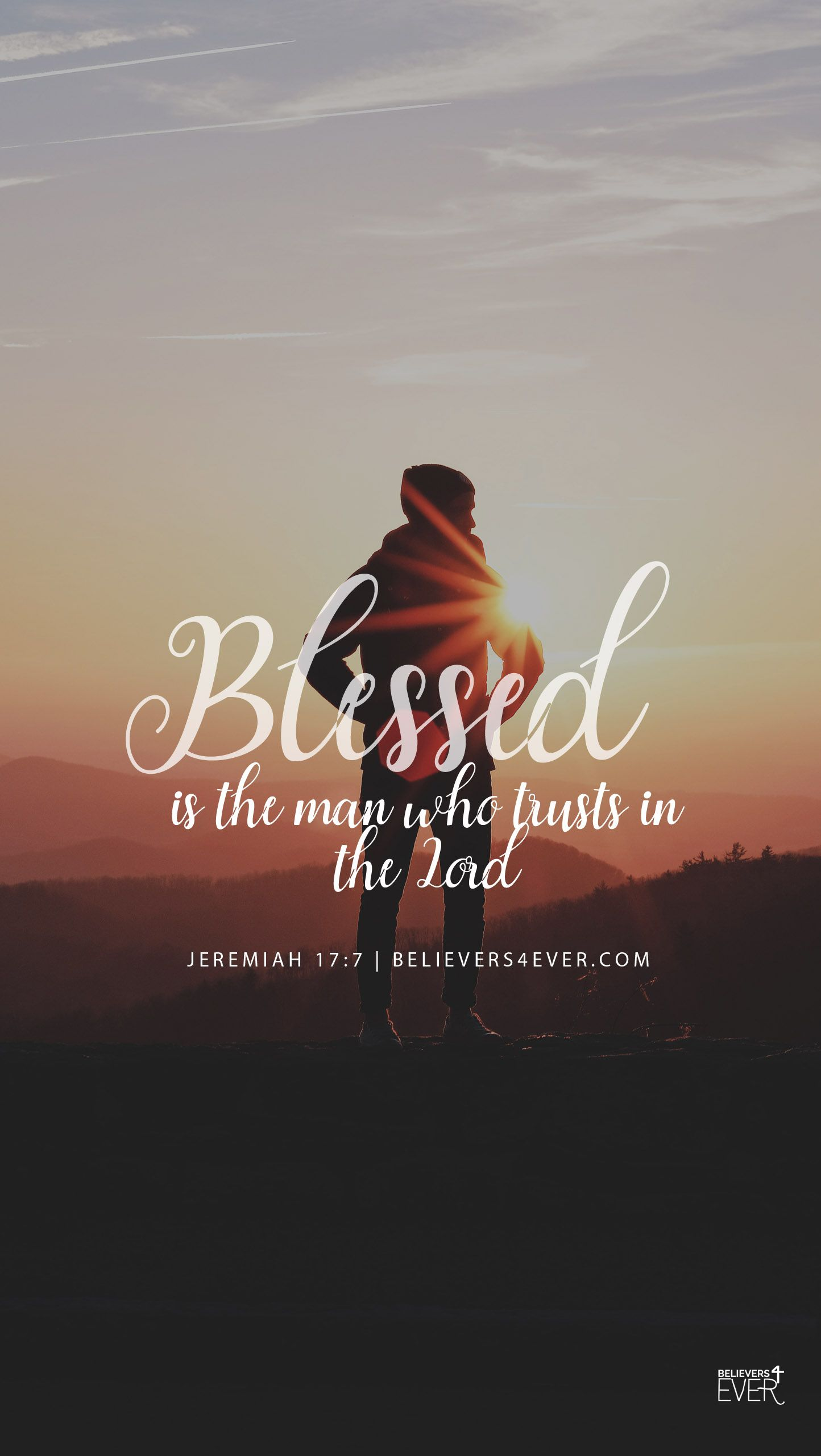 Blessed Is The Man Believers4ever Com Wallpaper Bible Bible Quote Tattoos Bible Verse Wallpaper