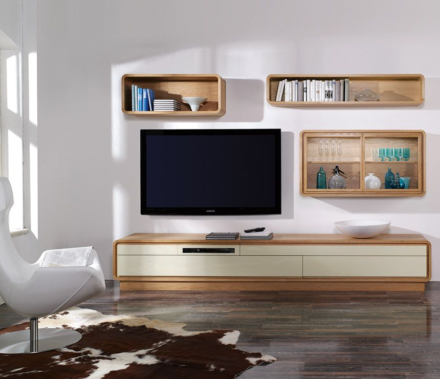 Exceptional Media Wall Unit