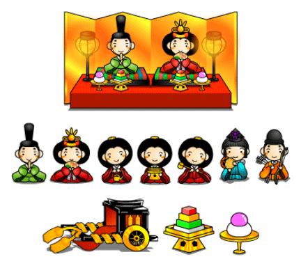 ひな祭り ひな人形 イラスト Google 検索 ひな祭り雛祭りdolls