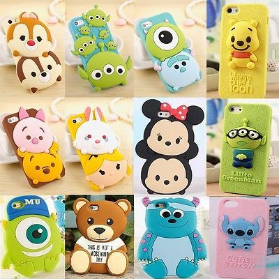 Details About New Cute 3d Cartoon Disney Silicone Rubber