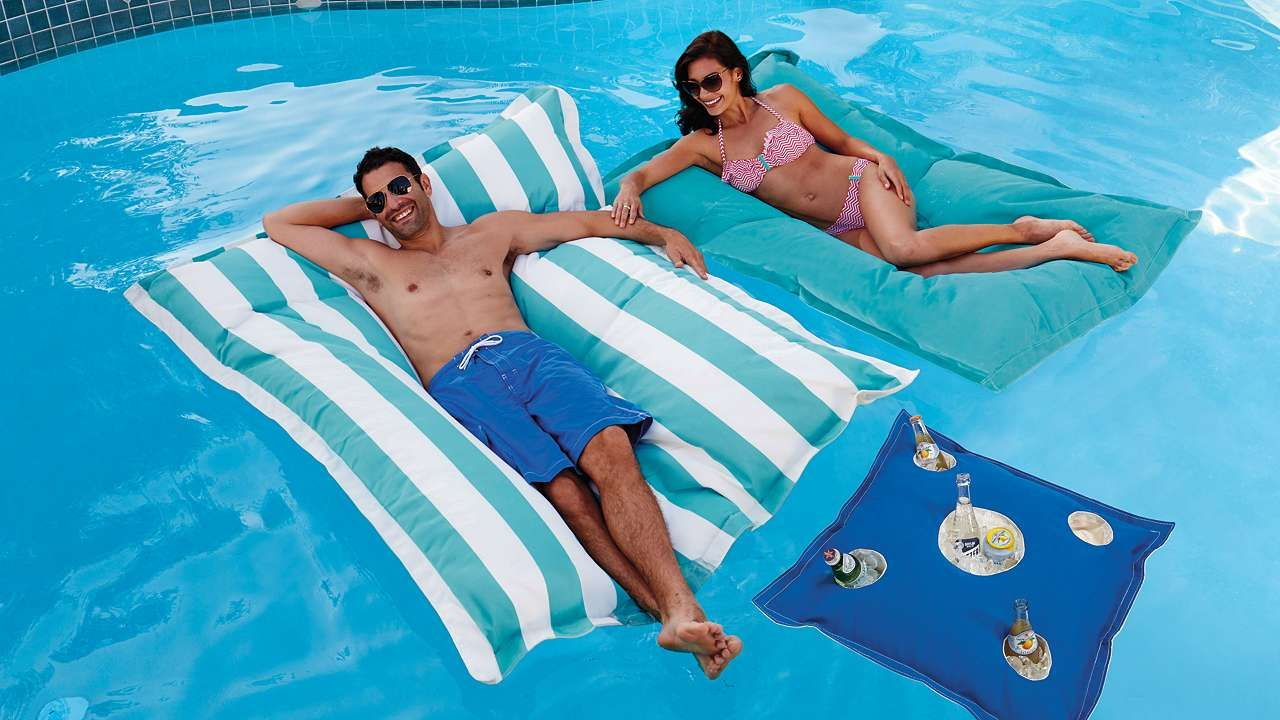 Luxe Edition Lana Float Pool Floats Pool Pillow Water