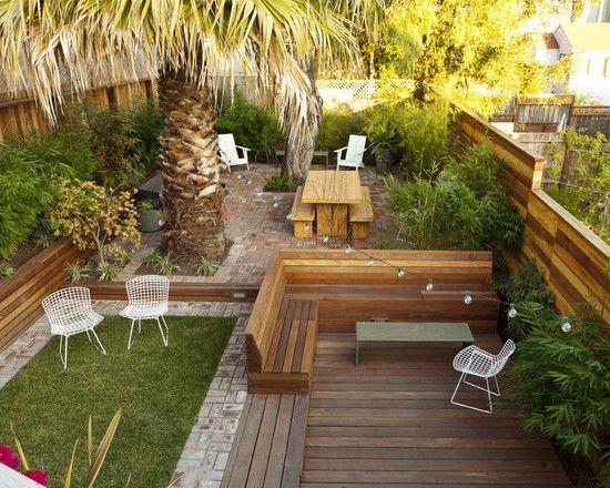 Landscape Deck Privacy Walls Design Pictures Remodel Decor And