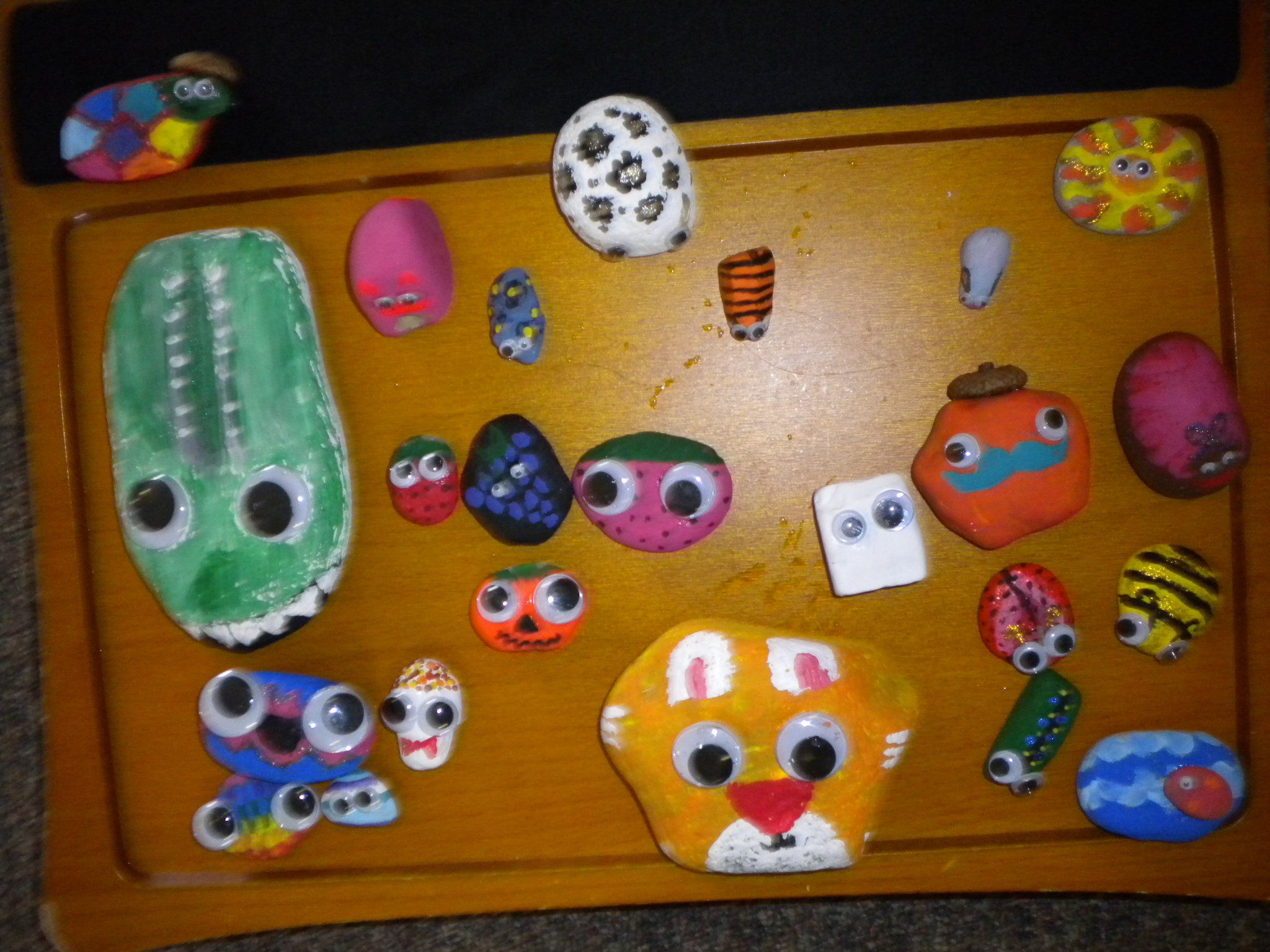 rock pets. Something to do with all those rocks Azedah likes to collect!