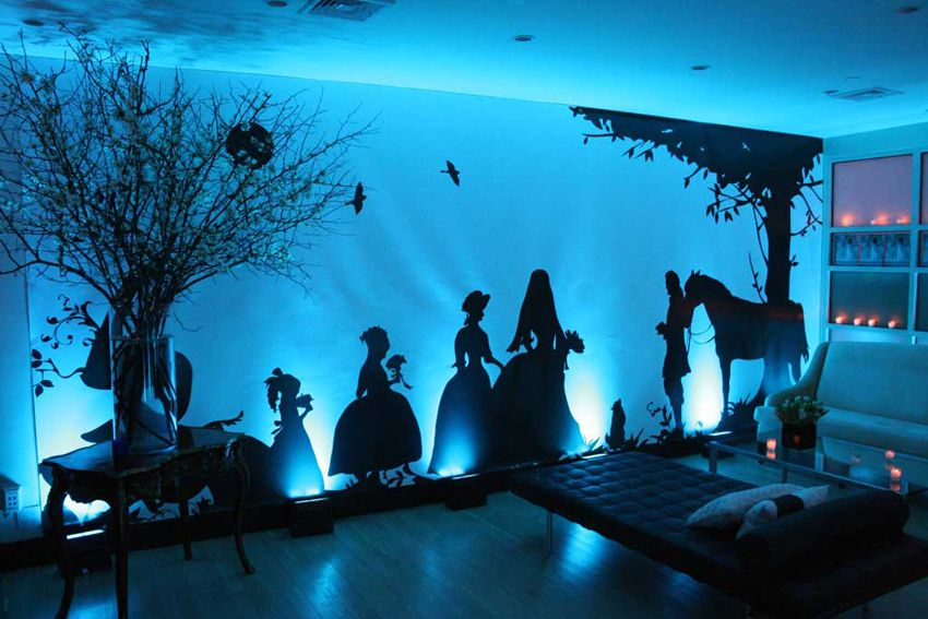 I can imagine this with a fairytale event living for Anime zimmer deko