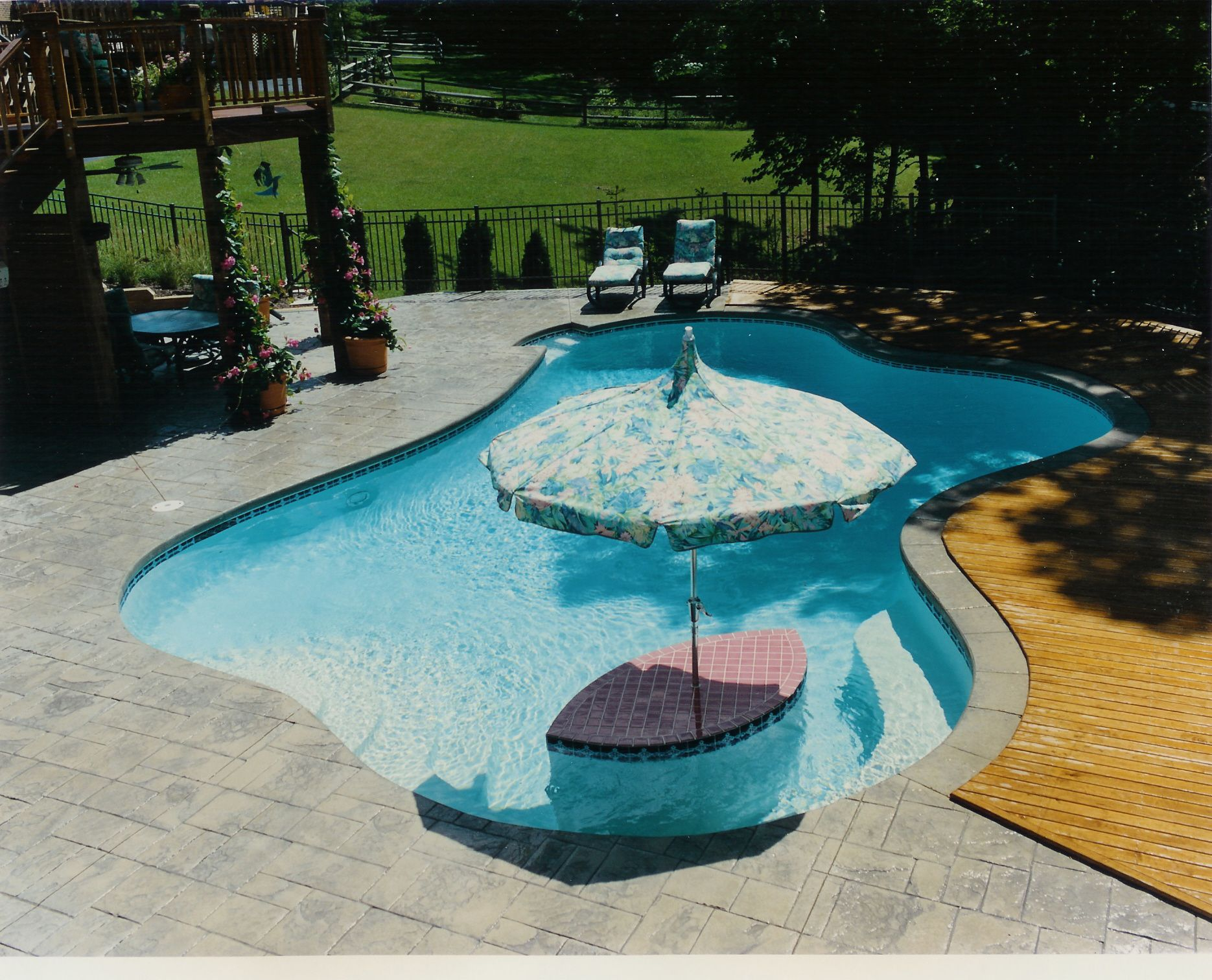 Small built in pool designs designing and repairing for Pool design pinterest