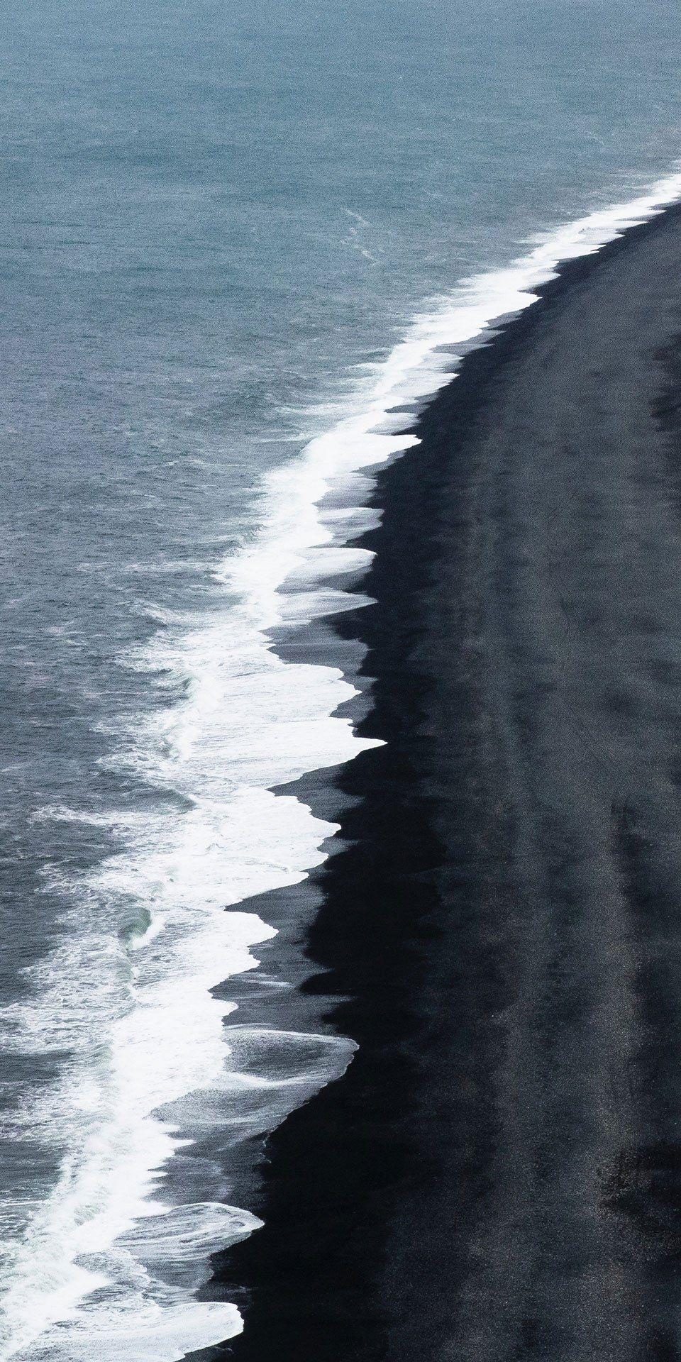 Reykjavik Iceland With Its Enormous Basalt Stacks Roaring Atlantic Waves And Stunning Panoram Black Sand Beach Iceland Iceland Wallpaper Iceland Black Sand