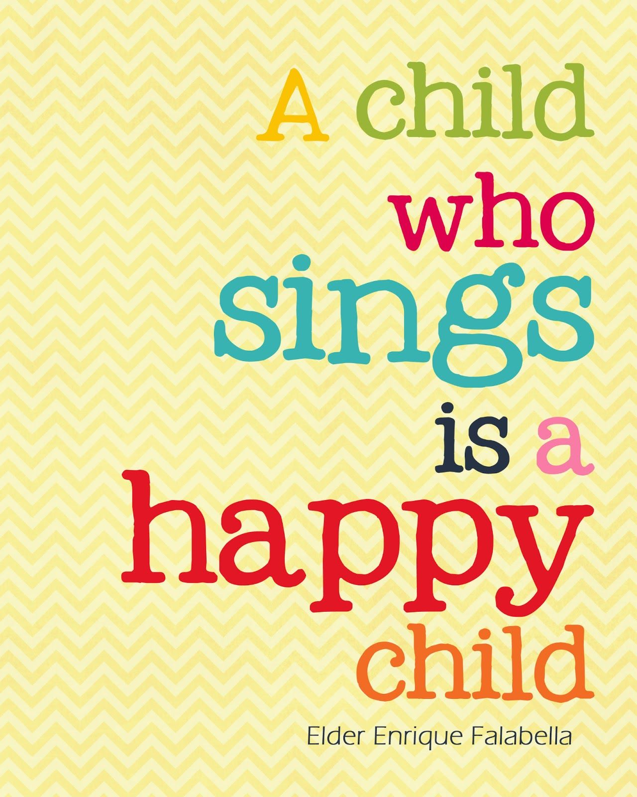 Love Quotes For Kids A Child Who Sings Is A Happy Child 4 Liv    Pinterest