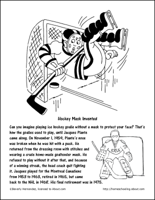 college hockey coloring pages | Chocolate Milkshake Recipe and Coloring Pages | pet rocks ...