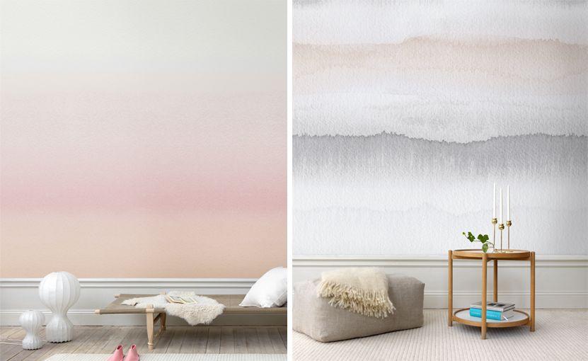 Papiers Peints Pour Une Chambre Scandinave   Blog Au Fil Des Couleurs   Papiers  Peints Et Décors Muraux