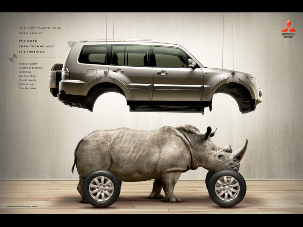 Rhino Mitsubishi Africa Adforum Com Ads All Over The Place