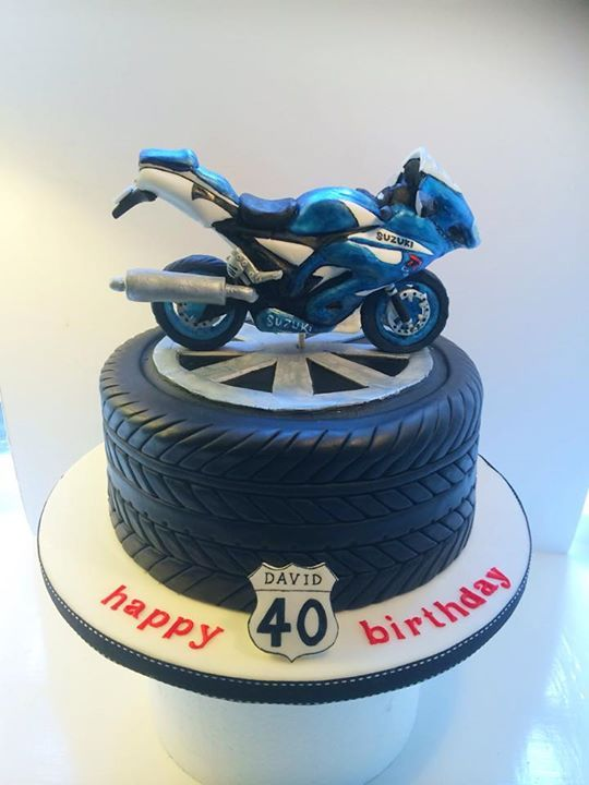 Motorbike Cake Birthday Cake Birth