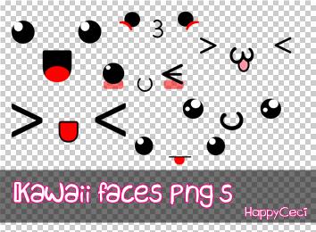 Kawaii Faces Png By Happyceci On Deviantart Kawaii Faces Kawaii Kawaii Cups