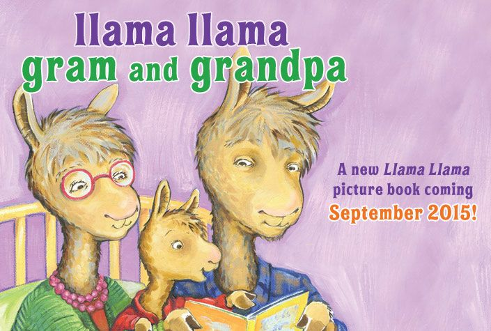 Anna Dewdney's Llama Llama--site has info on books, characters etc.