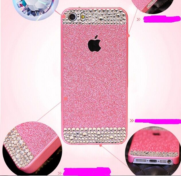 Bling iPhone 5 Cases Cover Bling iPhone 5S Cover Crystal Phone Cases Cover  For iPhone 5 5S 5C 887c16512
