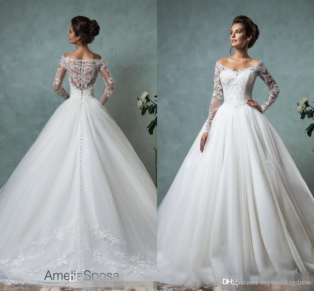 Long sleeve wedding dresses cheap wedding dresses for guests check