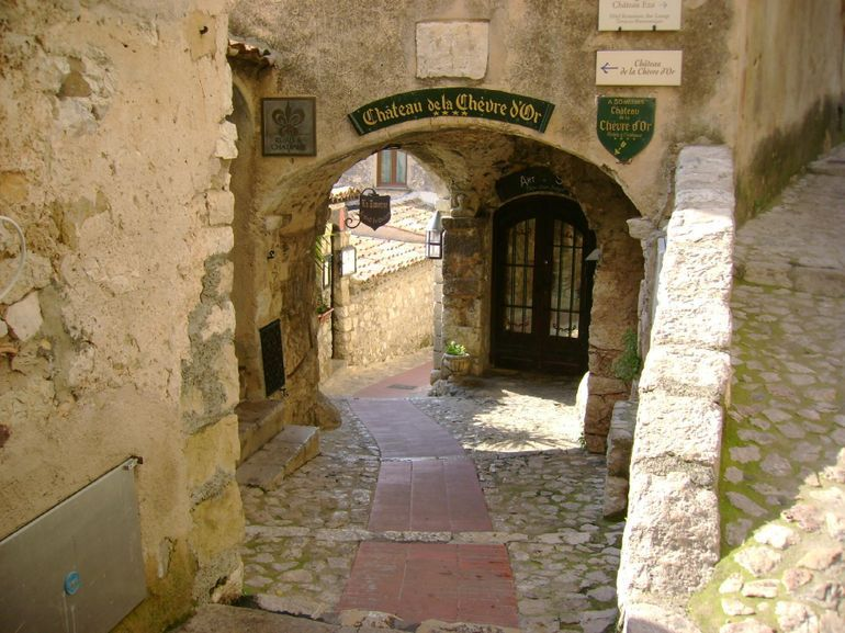 Streets of Eze near Nice, French Riveria
