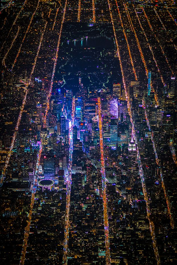 16 Electrifying Aerial Photos That Capture The Pulse Of Nyc New York City Night City City
