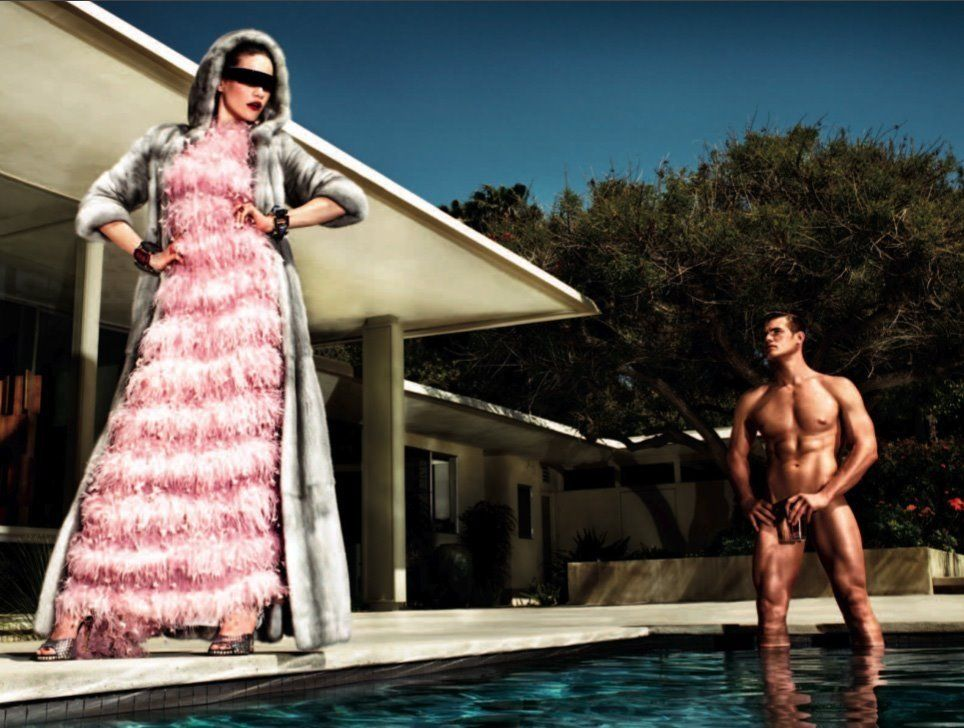 nude male female photographer