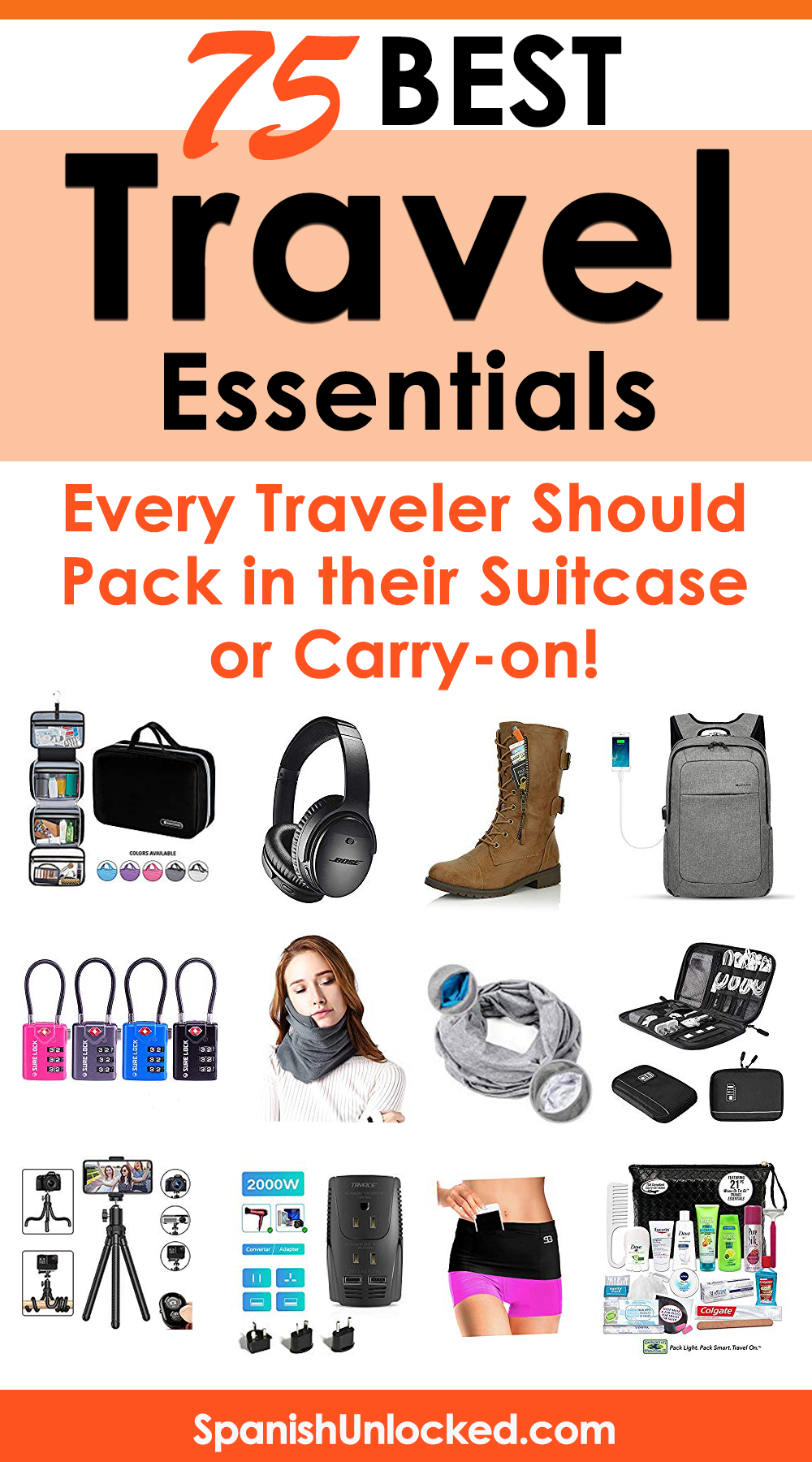 Best Travel Accessories 2021 You'll love these must have travel accessories! They are so cool