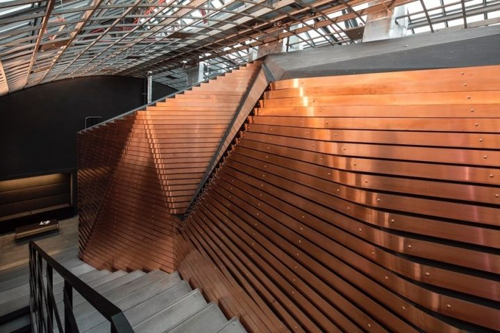 Red Bull Studios By Optimist Design Berlin Germany Retail Design Blog Roof Architecture Roof Design Modern Roofing