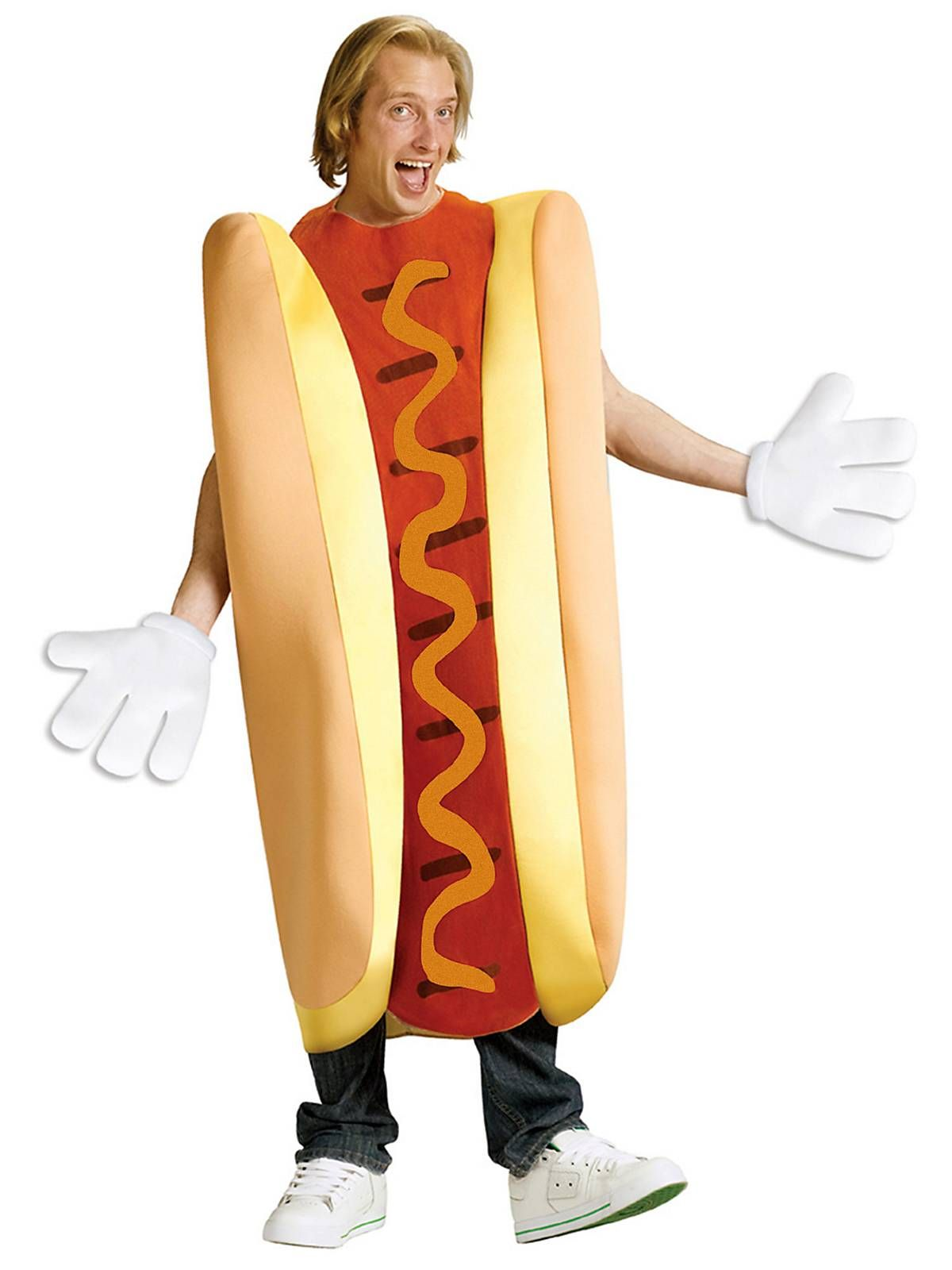 unisex hot dog costume mens food halloween costumes - Halloween Food Costume