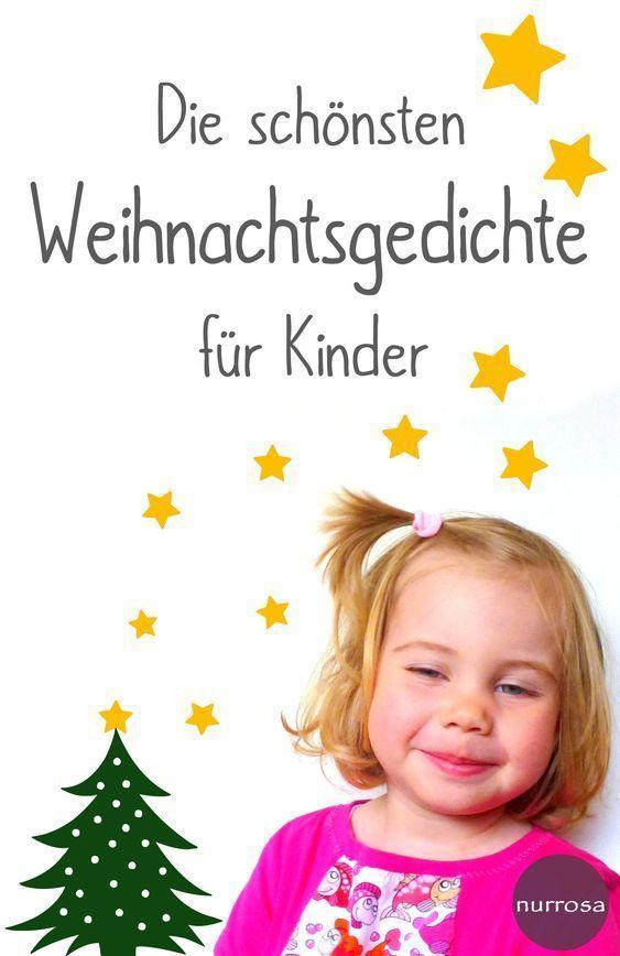 Die schönsten Weihnachtsgedichte für Kinder