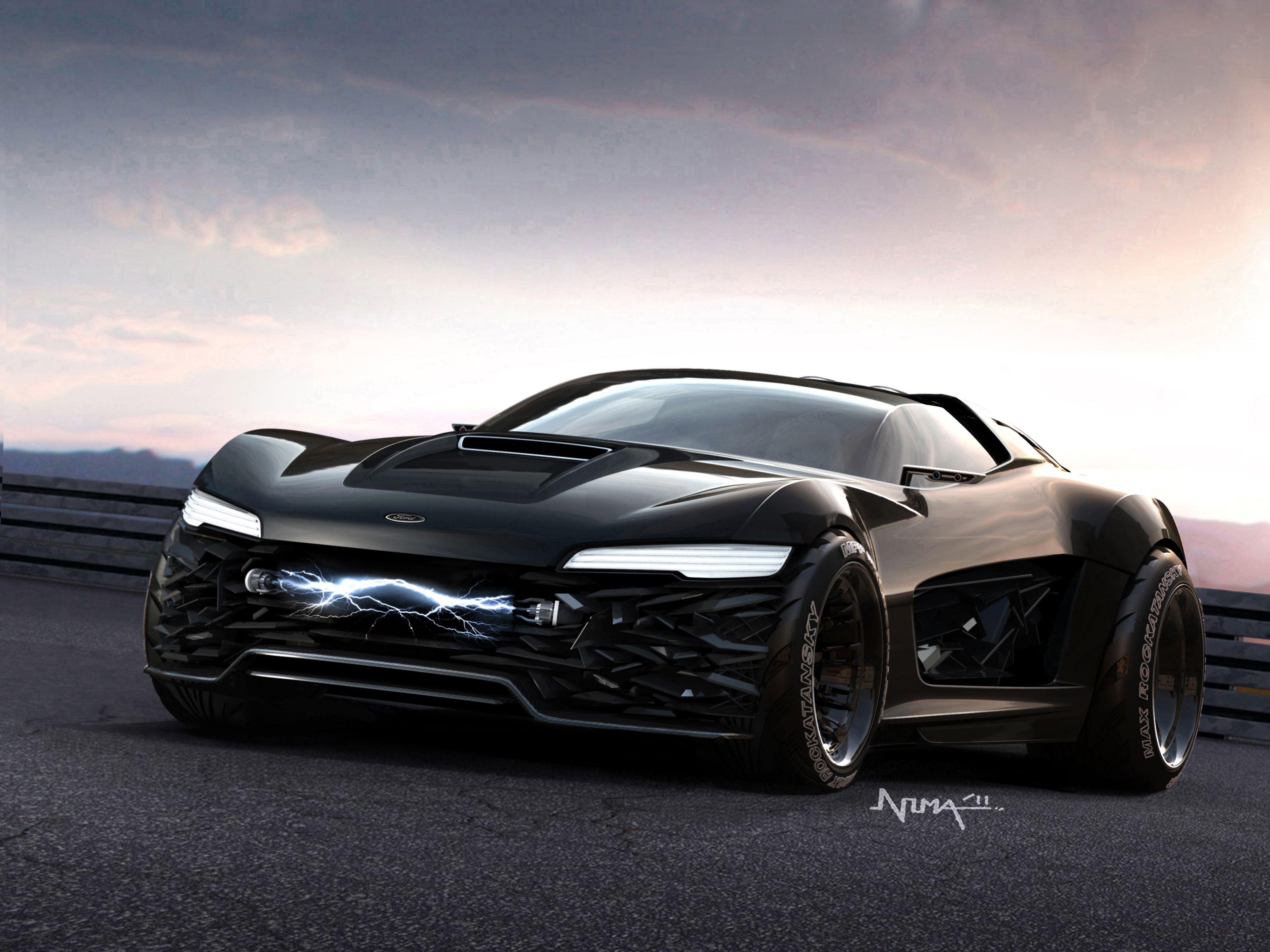 Ford Mad Max Interceptor Interceptor Modern Muscle Cars Car