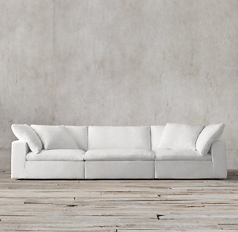 Cloud Modular Collection | RH | home | Pinterest | Modular sofa ...